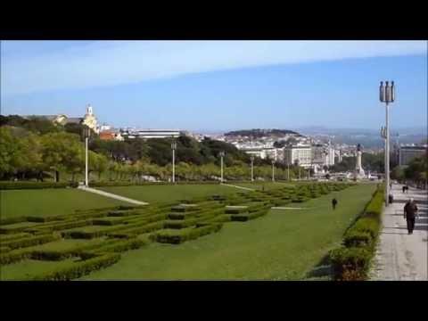 Parque Eduardo VII em Lisboa HD