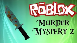 playing murder mistery (roblox)