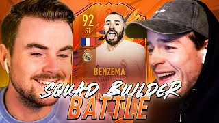 SQUAD BUILDER BATTLE | 92 HEADLINER BENZEMA