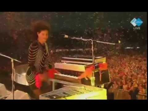 Arcade Fire live at Pinkpop 2014: Here comes the Night time