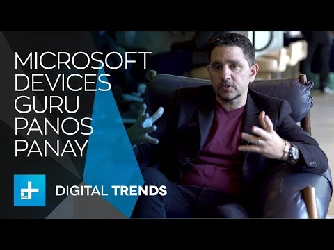 Microsoft devices guru Panos Panay on making devices that sing