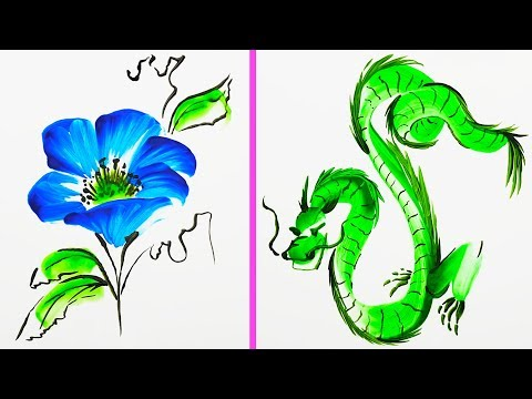 20 EASY AND SATISFYING ART TECHNIQUES