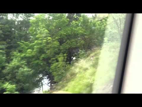 Zugfahrt von Heidenheim a. d. Brenz bis Giengen(Brenz) im BR 650