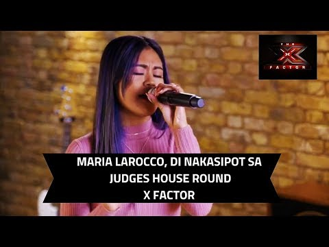 MARIA LAROCCO DI NAKASIPOT SA JUDGES HOUSES ROUND | The X