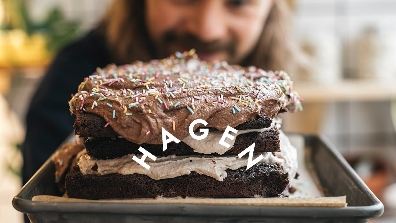 Sjokoladekake à La Mat Fra Hagen | @christophergulliksen (VEGAN)