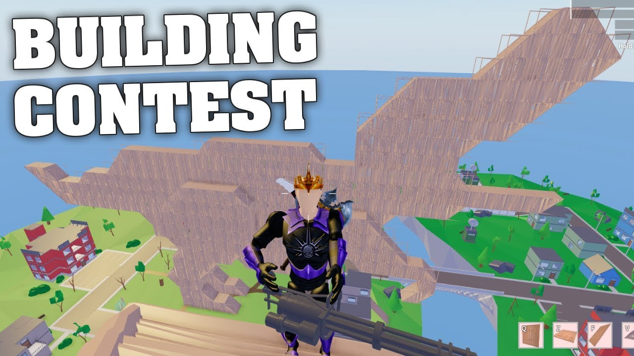 STRUCID BUILDING CONTEST! (ROBLOX FORTNITE) - YouTube