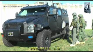 Alpine Armoring Pit Bull VX Armored  SWAT Truck thumbnail
