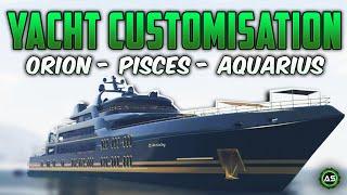 GTA 5 - Best Yacht Customisation (Customising all 3 versions)