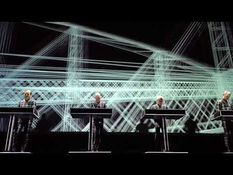 "Kraftwerk - ""Trans Europe Express"" (17.02.2018 Saku Suurhall Tallinn, Estonia) HD"
