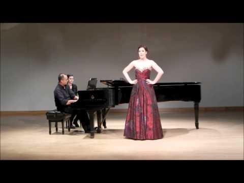 """Shannon Grace- """"Tais-Toi Babillarde"""" by Darius Milhaud"""