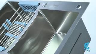 Đánh Giá Nhanh Bồn Rửa Chén Inox 304 Draco 8245L - Giải Pháp Tiện Nghi Cho Căn Bếp