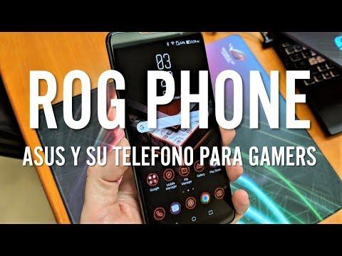 EL AÑO DE  LOS SMARTPHONES PARA GAMERS!!! - ROG Phone, primeras impresiones
