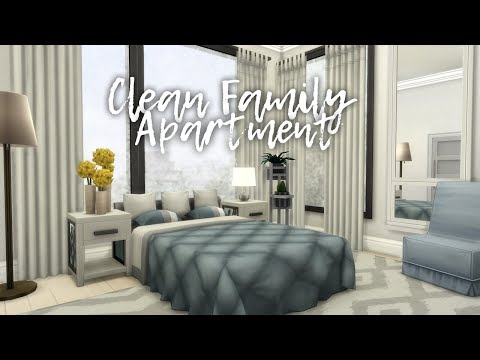 Clean Family Apartment || The Sims 4 Apartment Renovations: Speed Build