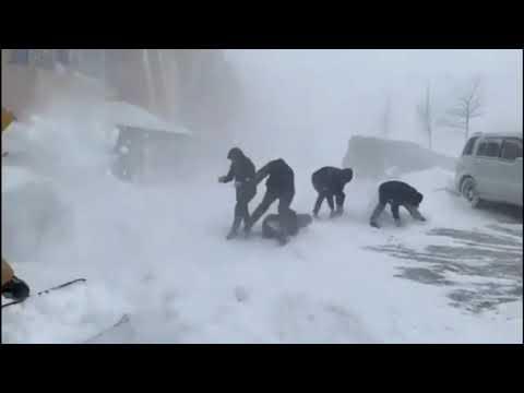 Пурга 18.12.2018 Петропавловск-Камчатский