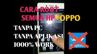Cara root semua hp oppo. Tanpa aplikasi, tanpa pc 100% works