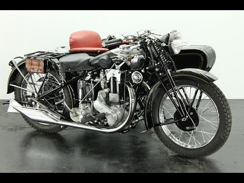 Ariel VF31 1930 500cc 1 Cyl Ohv Combination - Vintage Motorcycle - Start Up