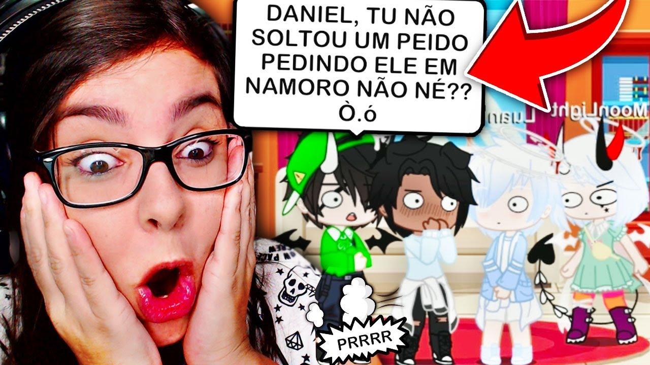 DANIEL PEDINDO O LUAN EM NAMORO !  (Gacha Club Mini Filme)