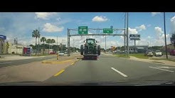Driving through Dade City, Florida