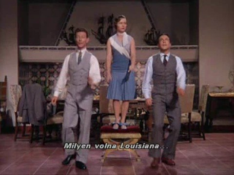 Debbie Reynolds, Gene Kelly & Donald OConnor  Good morning with hun sub