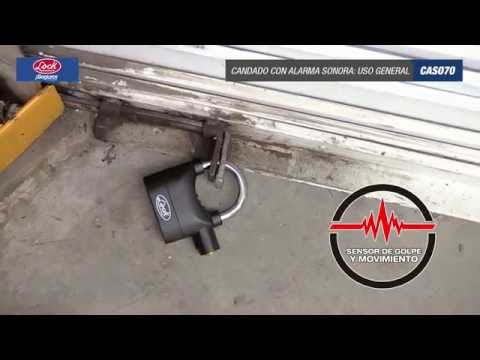 Candados con alarma sonora Lock URREA México