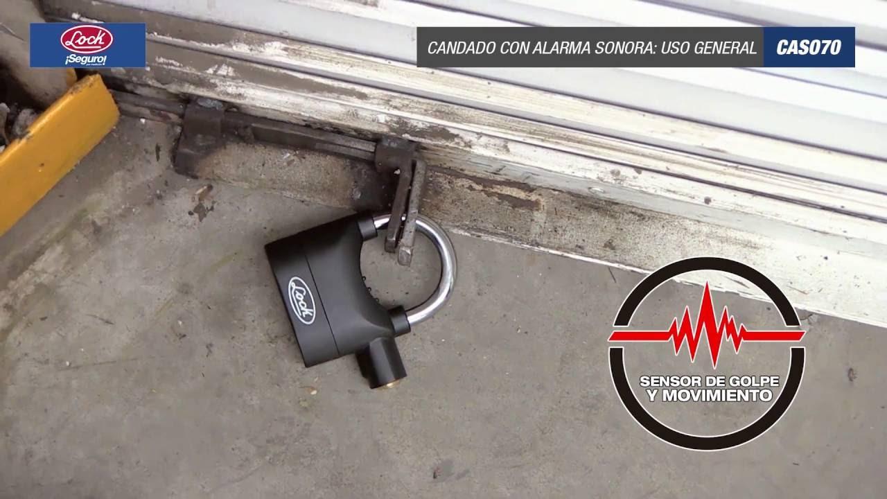 Alarma candados para puertas con