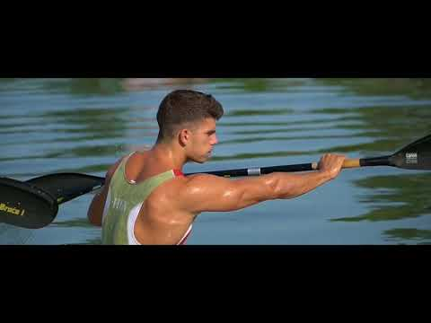 Hungarian K2 Canoe Marathon team training