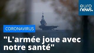 La contamination des marins du Charles de Gaulle suscite la colère