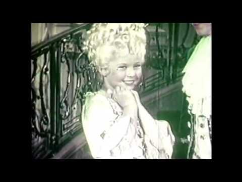 Shirley Temple RARE FOOTAGE On Set Filming Heidi 1937