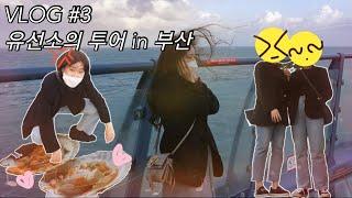 VLOG#3 유선소의 투어 in 부산(청사포편) ㅣ 조…