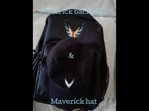 Maverick backpack maverick hat **merch link in bio*