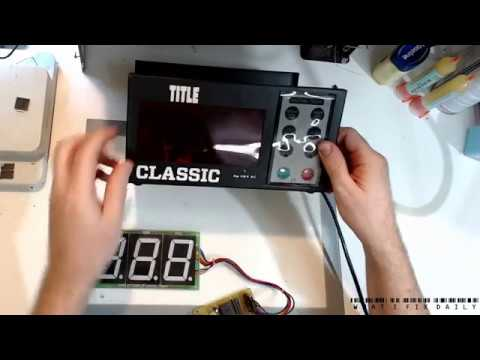LED display timer unit - burned out: Is this a shock risk?