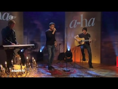 [A-ha FR] A-ha Under the Makup Acoustique - Aspekte ZDF 05/09/2015