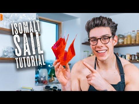 Isomalt Sail Tutorial - Easy Cake Decoration - Topless Baker