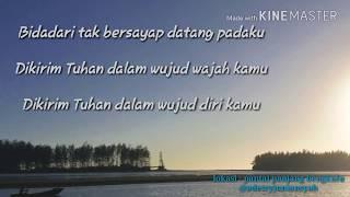 Video ANJI - Bidadari Tak Bersayap (LIRIK LAGU) download MP3, 3GP, MP4, WEBM, AVI, FLV Februari 2018