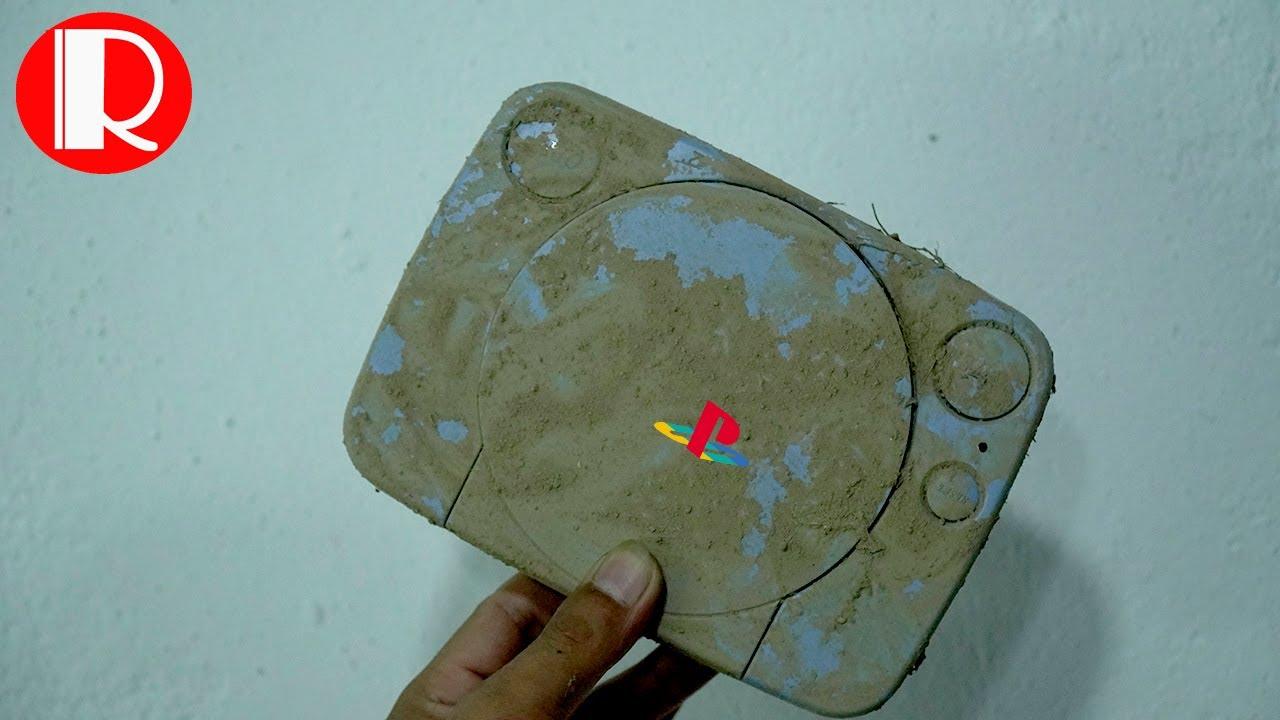 Restoration old broken PlayStation from China - Retro Console Restore & Repair