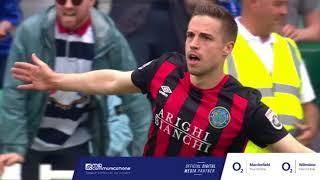 Highlights: Eastleigh 0-2 Macclesfield