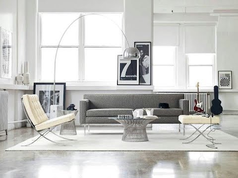 Living Space With Polished Concrete Floors Youtube