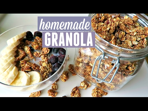 BANANA GRANOLA   Gluten-free & Vegan
