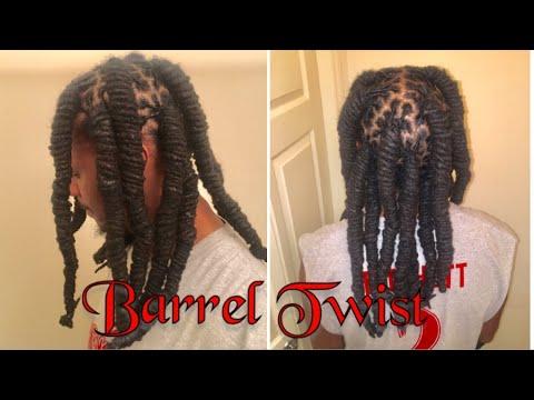 Dread • Barrel Twist Hairstyle • Dread Maintenance