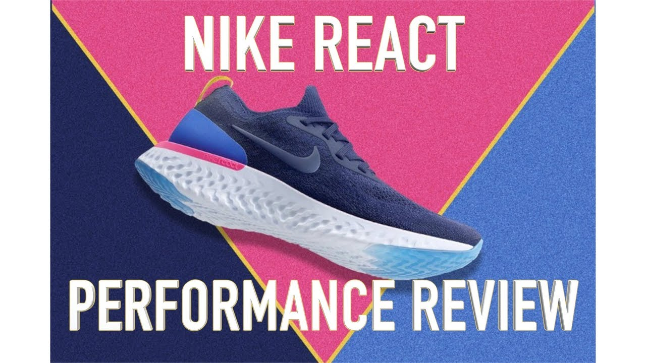 fd971f3e518 NIKE EPIC REACT FLYKNIT PERFORMANCE RUNNING REVIEW - YouTube