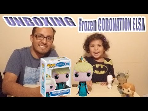 Frozen CORONATION ELSA Hot Topic exclusive Funko Pop Unboxing