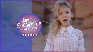 Junior Eurovision 2018 | My Top 6 [so far] 🇦🇲 🇧🇾 🇰🇿 🇲🇹 🇷🇺 🇺🇦