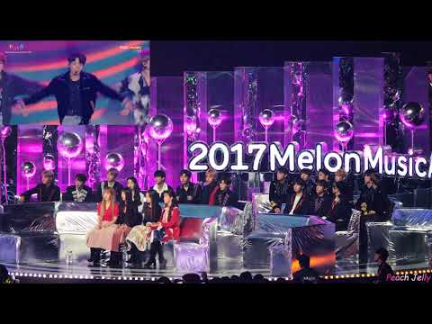 171202 방탄소년단(BTS) - DNA+Spring Day Reaction(IU, Wanna One, JBJ, Red Velvet) / MMA By Peach Jelly