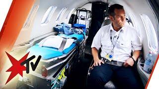 Flugambulanz: Rückflug im Rettungsflieger – Unterwegs mit den Einsatzkräften | stern TV