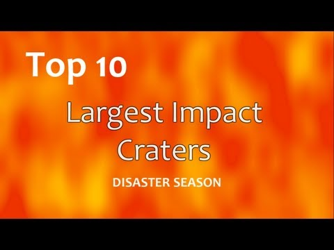 Top 10: Largest Impact Craters