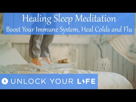 Healing Sleep Meditation, Boost Your Immune System, Heal from Cold and Flu