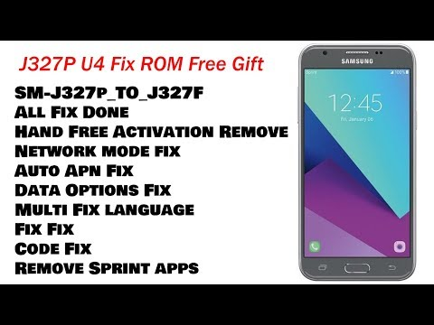 How To Flash Samsung SM-J327T1 Stock Firmware by a2zrom