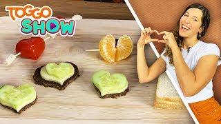 Valentinstag-Snacks | DIY | SELBSTGEMACHT mit Lisa | TOGGO Show