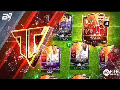 FULL TEAM HEROES SQUAD BUILDER! w/ HERO MASTER MULLER UNLOCKED! | FIFA MOBILE