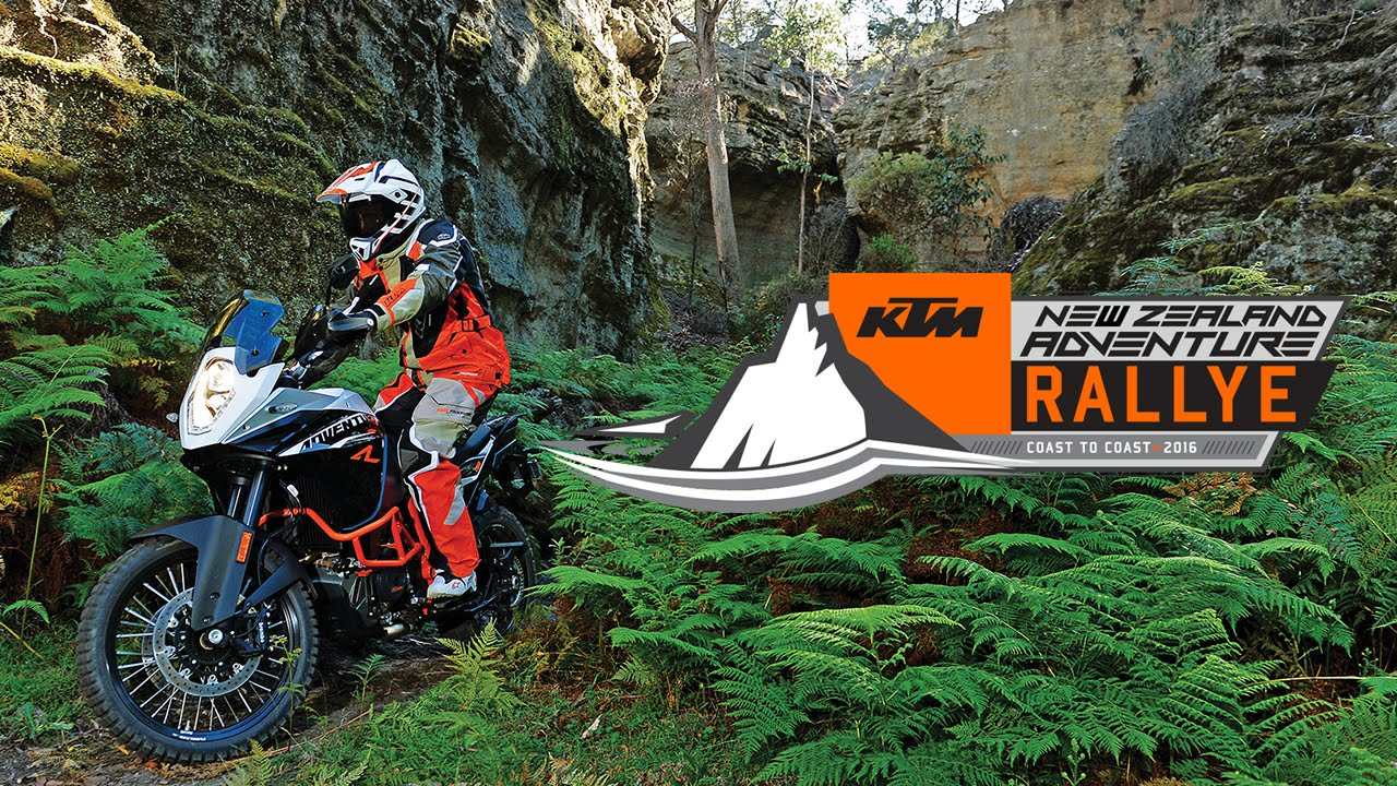 KTM New Zealand Adventure Rallye Coast to Coast